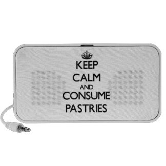 Keep calm and consume Pastries iPhone Speaker