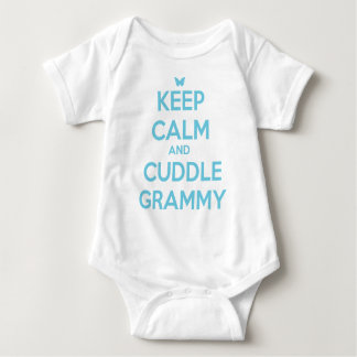 Keep Calm and Cuddle Grammy Baby Bodysuit
