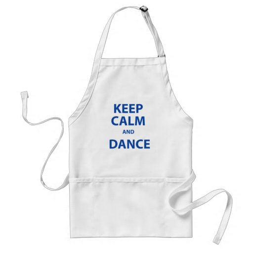 Keep Calm and Dance Aprons