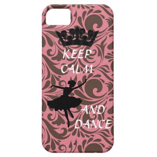 keep calm and dance ballerina iphone 5 case