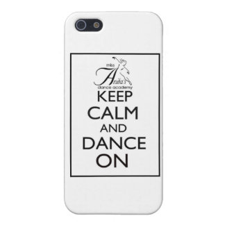 Keep Calm and Dance On Cover For iPhone 5/5S