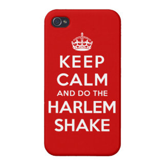 Keep Calm and do the Harlem Shake iPhone 4/4S Cases