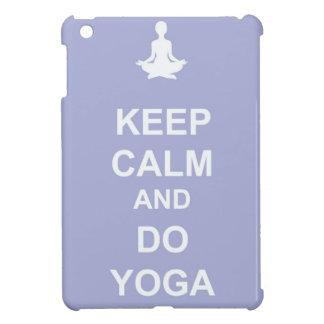 Keep Calm and Do Yoga iPad Mini Cover