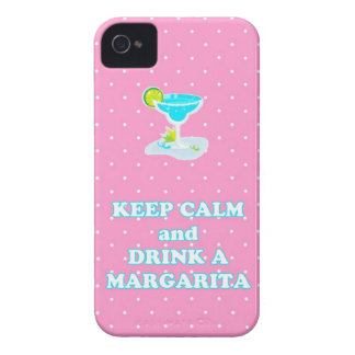 Keep Calm and Drink A Margarita iPhone 4 Case
