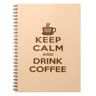 Keep Calm and Drink Coffee Notebook