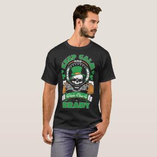 Keep Calm And Drink Like Brady St Patrick Irish T-Shirt