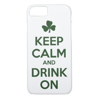 Keep Calm and Drink On. iPhone 8/7 Case