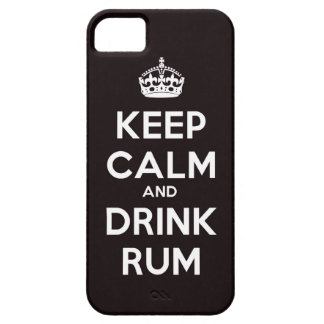 Keep calm and Drink Rum alcohol drinking pirate sh iPhone 5 Case
