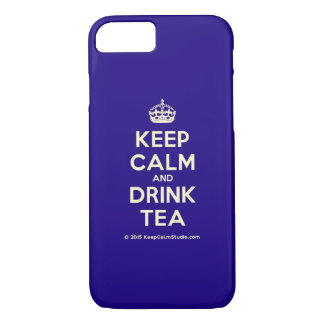 Keep Calm and Drink Tea iPhone 8/7 Case