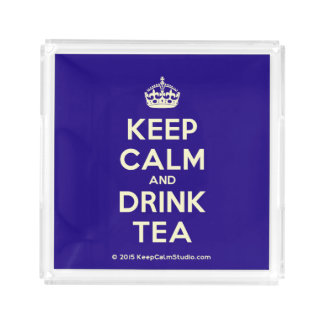 Keep Calm and Drink Tea Perfume Tray