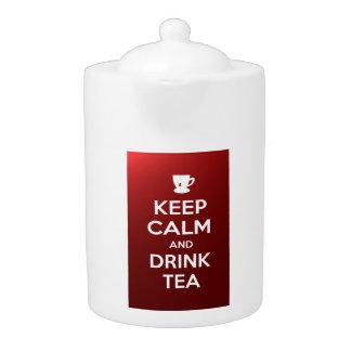 Keep Calm and Drink Tea Teapot