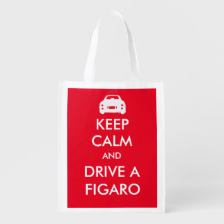 Keep Calm and drive a Figaro reusable bag