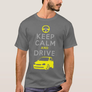 Keep Calm and Drive -Corsa- T-Shirt