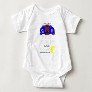 Keep Calm and Drive IT - cod. 1965Cobra427 Baby Bodysuit