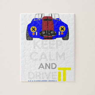 Keep Calm and Drive IT - cod. 1965Cobra427 Puzzles
