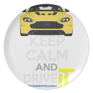 Keep Calm and Drive IT - cod. A-SVantageS Party Plates