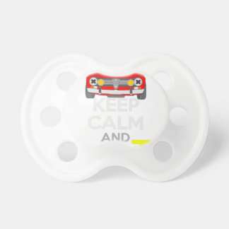 Keep Calm and Drive IT - cod. GiuliaTi Baby Pacifier