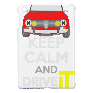 Keep Calm and Drive IT - cod. GiuliaTi iPad Mini Case