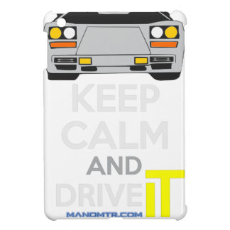 Keep Calm and Drive IT - cod. LCountach Cover For The iPad Mini