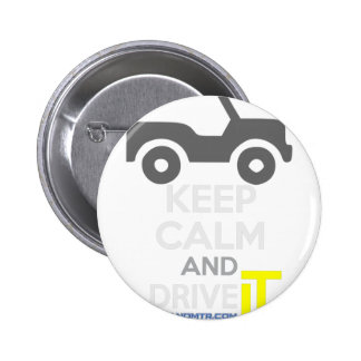 Keep Calm and Drive IT - cod:LDDefender 2 Inch Round Button