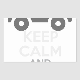 Keep Calm and Drive IT - cod:LDDefender Sticker