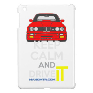 Keep Calm and Drive IT - cod. M3E30 Cover For The iPad Mini