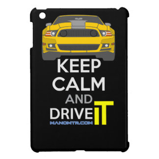 Keep Calm and Drive IT - cod. Mustang302Boss iPad Mini Cover