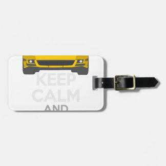 Keep Calm and Drive IT - cod. Mustang302Boss Luggage Tag