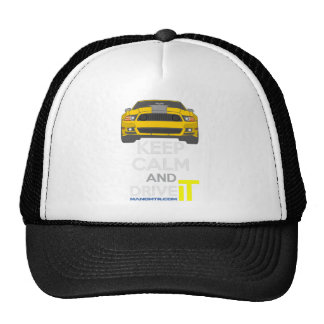 Keep Calm and Drive IT - cod. Mustang302Boss Trucker Hat