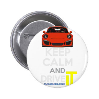 Keep Calm and Drive IT - codPRSC 2 Inch Round Button