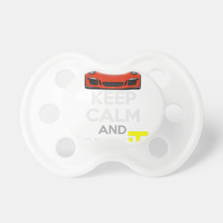 Keep Calm and Drive IT - codPRSC Baby Pacifiers