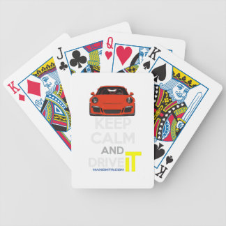 Keep Calm and Drive IT - codPRSC Poker Deck