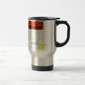 Keep Calm and Drive IT - codPRSC Travel Mug