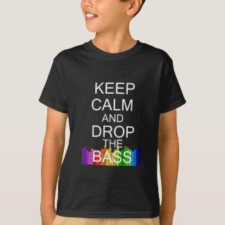Keep Calm and Drop The Bass Tee Shirt