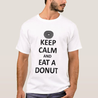 keep calm and eat a Donut.jpg T-Shirt