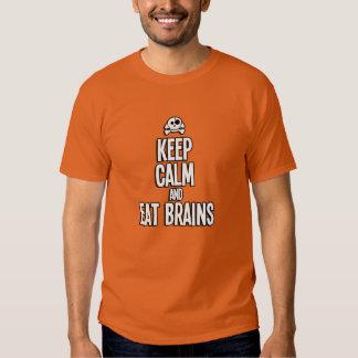 Keep Calm And Eat Brains - Halloween LIMITED Tee Shirt