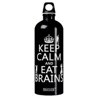 Keep Calm and Eat Brains (zombies) (any color)