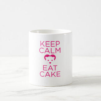 Keep Calm and Eat Cake FLOPPYBEAR Mug! Coffee Mug