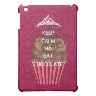 KEEP CALM AND EAT CHOCOLATE iPad MINI COVER
