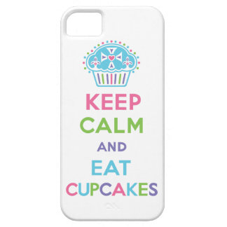 Keep Calm and Eat Cupcakes 1 pastel iPhone 5 iPhone 5 Case