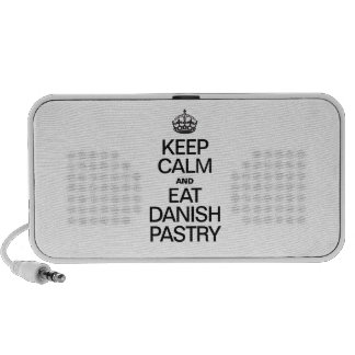 KEEP CALM AND EAT DANISH PASTRY MINI SPEAKER