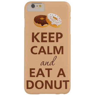 KEEP CALM AND EAT DONUTS ipod case for iPhone6/6s