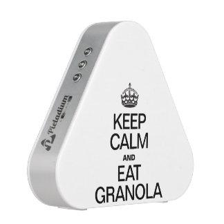 KEEP CALM AND EAT GRANOLA SPEAKER