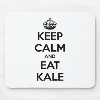 KEEP CALM AND EAT KALE MOUSE PAD