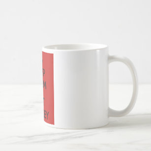 keep calm and eat kenkey coffee mug