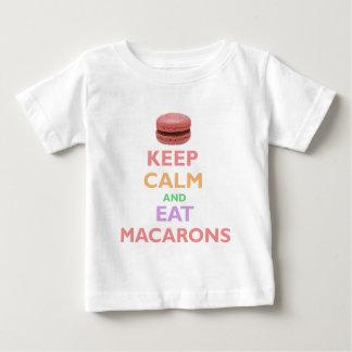Keep Calm And Eat Macarons Tees