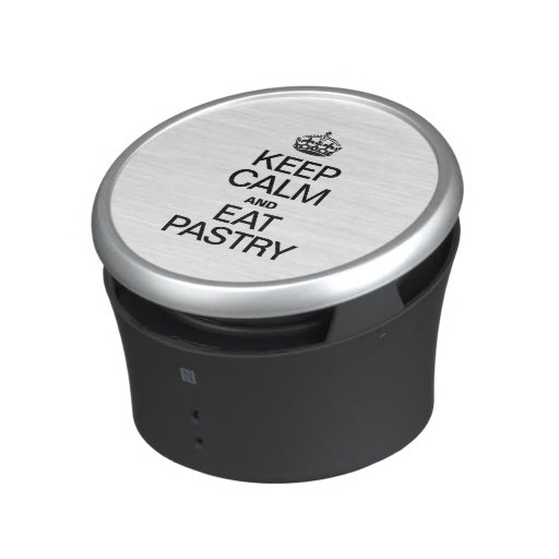 KEEP CALM AND EAT PASTRY BLUETOOTH SPEAKER