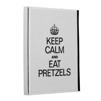 KEEP CALM AND EAT PRETZELS iPad CASE