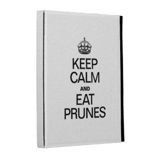 KEEP CALM AND EAT PRUNES iPad CASE