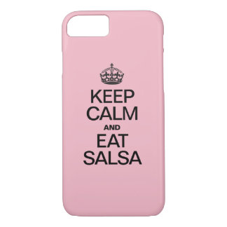 KEEP CALM AND EAT SALSA Case-Mate iPhone CASE